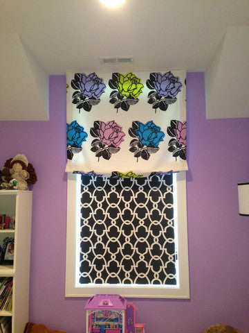 Roman Shade - Curtain Couture & NM Design House