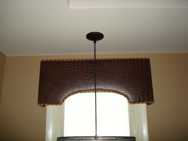 Upholstered Cornice - Curtain Couture