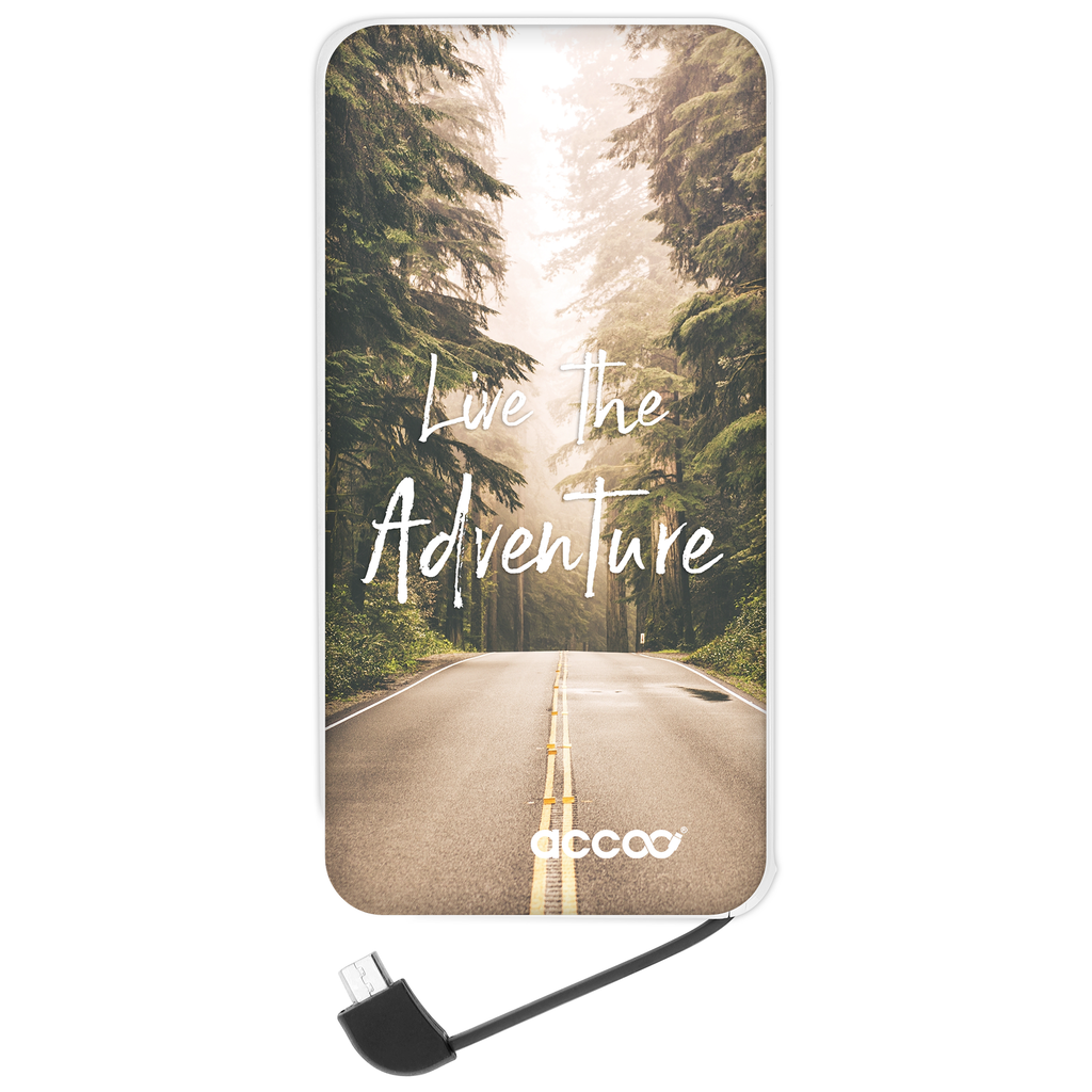 Batterie externe Modèle L - Design Live the Adventure