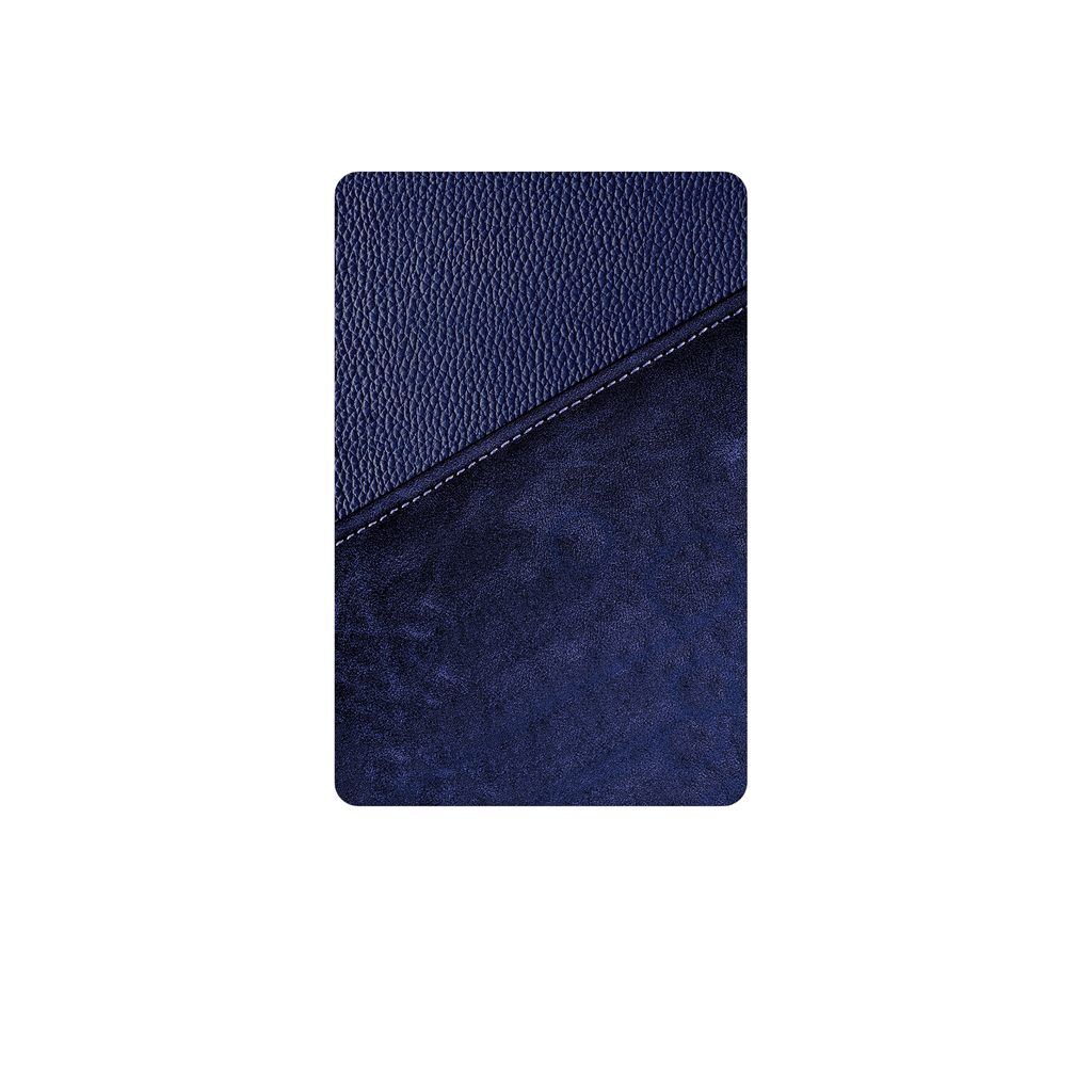 Batterie externe Modèle S - Design Navy Leather