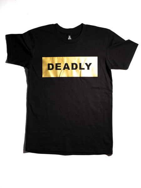 SOLID GOLD DEADLY Tee
