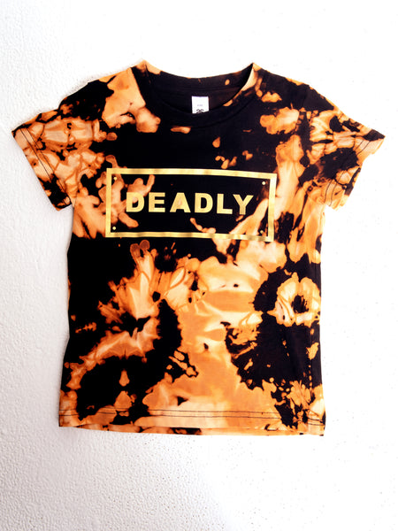 Tie Dyed Shorty Deadly Tee