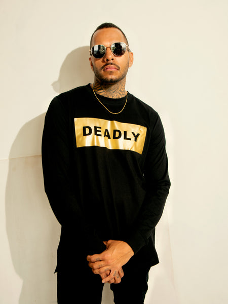 DEADLY Solid Gold LS Tee