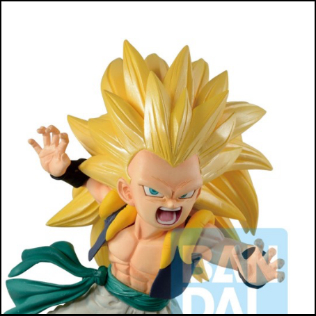 Dragon Ball Z Legends Ichibansho  Figure Super Saiyan 3 Gotenks Rising Fighters