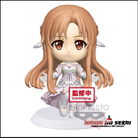 Figurine Sword Art Online Alicization War of Underworld - Figurine ASUNA Chibi Kyun-Chara - Nihon No Sekai Banpresto 4983164163650 Nihon No Sekai manga  anime  Figurine Sword Art Online Alicization War of Underworld - Figurine ASUNA Chibi Kyun-Chara