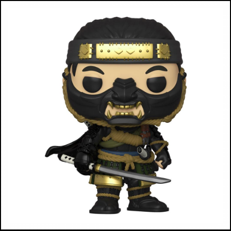 Funko Pop Ghost Of Tsushima - Figurine Jin Sakai - Nihon No Sekai Funko 889698490412 Nihon No Sekai manga  anime  Figurine Funko Pop Ghost Of Tsushima - Figurine Jin Sakai