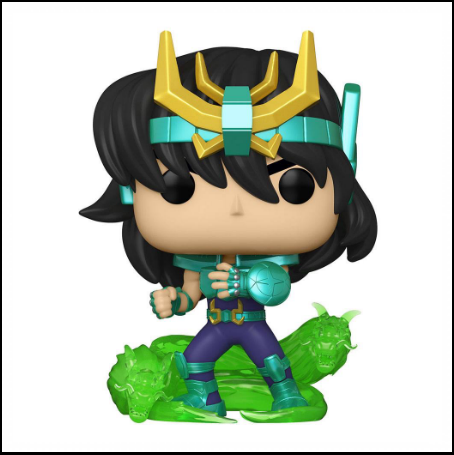 Saint Seiya Pop Animation Vinyl Figurine Dragon Shiryu - Nihon No Sekai Funko 889698476898 Nihon No Sekai manga  anime  Figurine Saint Seiya Pop Animation Vinyl Figurine Dragon Shiryu