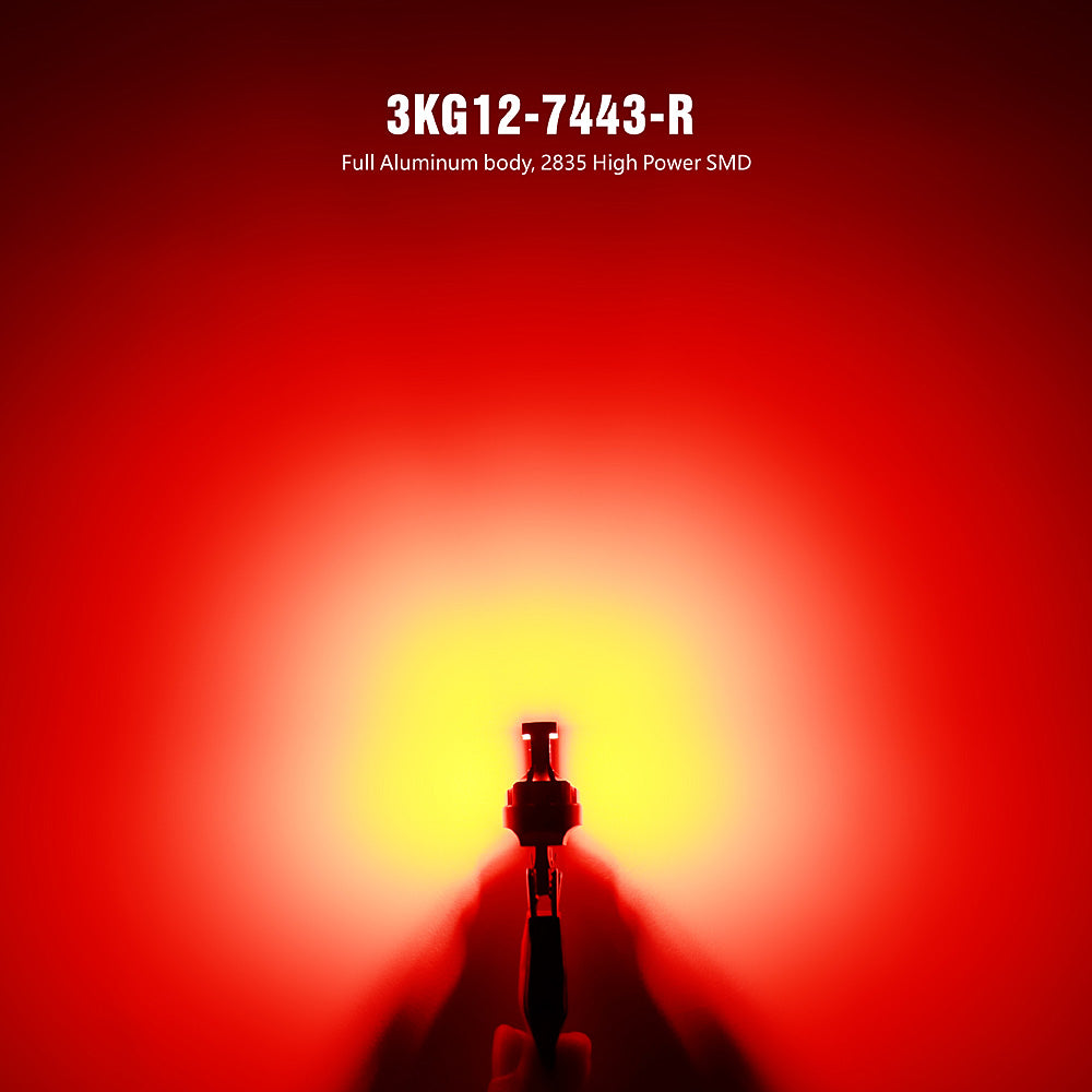 KG Series LED Exterior Light-7443 Red