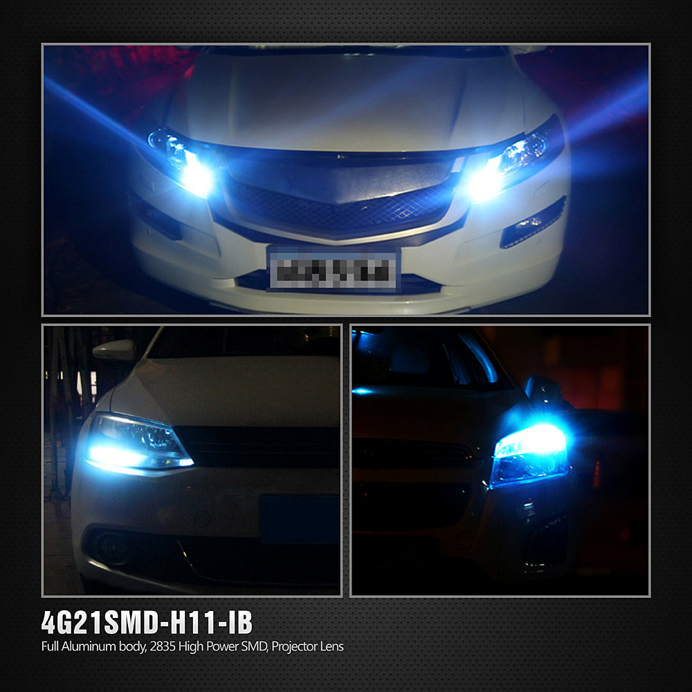 CK LED Fog Lights-H8 Ice Blue