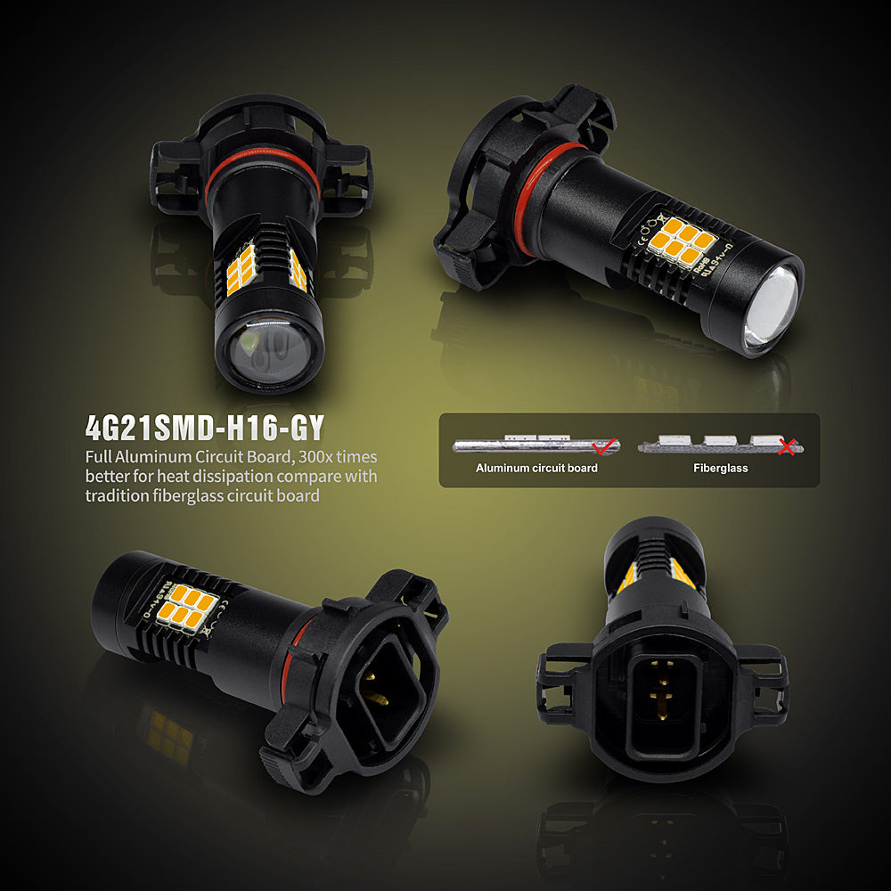 CG LED Fog Lights-5202 Golden Yellow