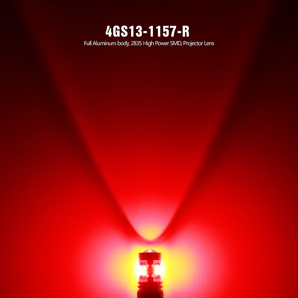 EK Series LED Exterior Light-1157 Red