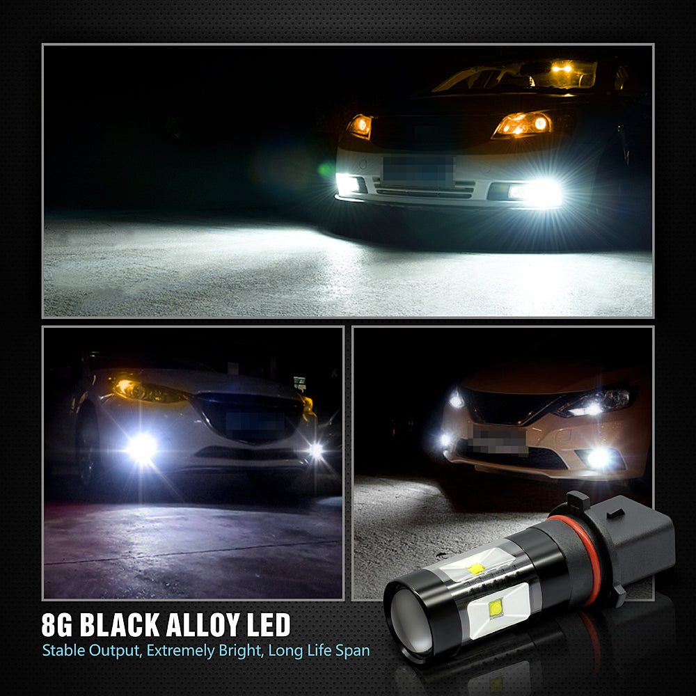 BK 30W LED Fog Lights-P13W