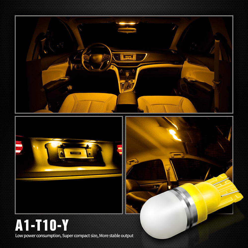 Pack of 6 LED Interior Lights-194 Amber