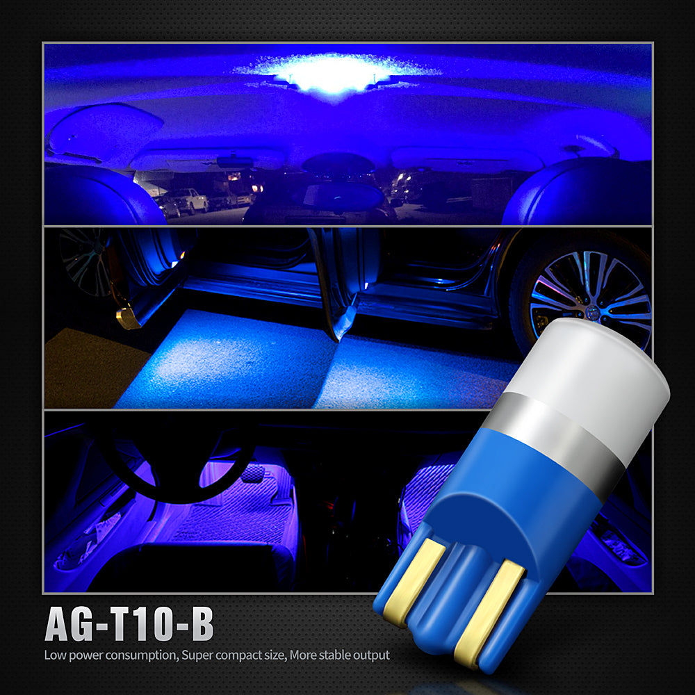 Pack of 4 LED Interior Lights-194 Blue