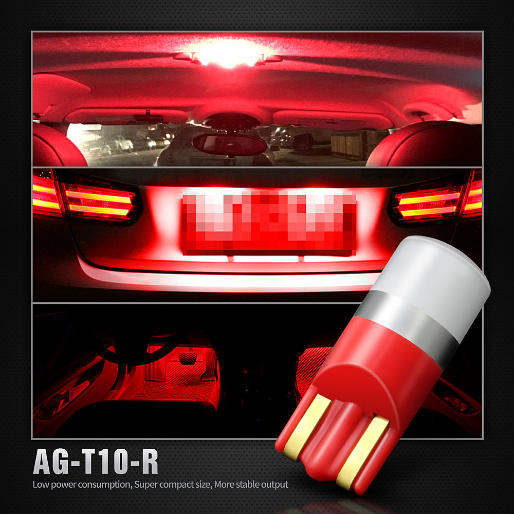 Pack of 4 LED Interior Lights-194 Red