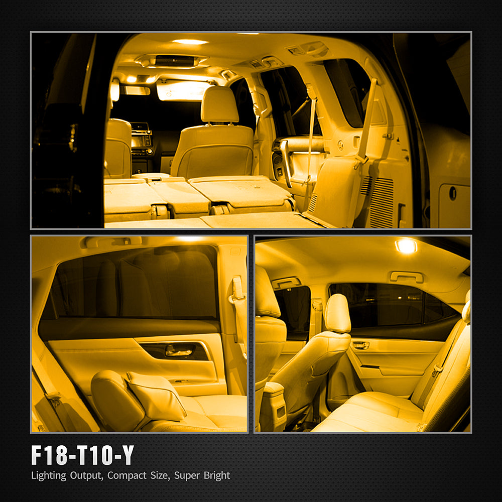 F18 Series LED Interior Lights-194 Amber