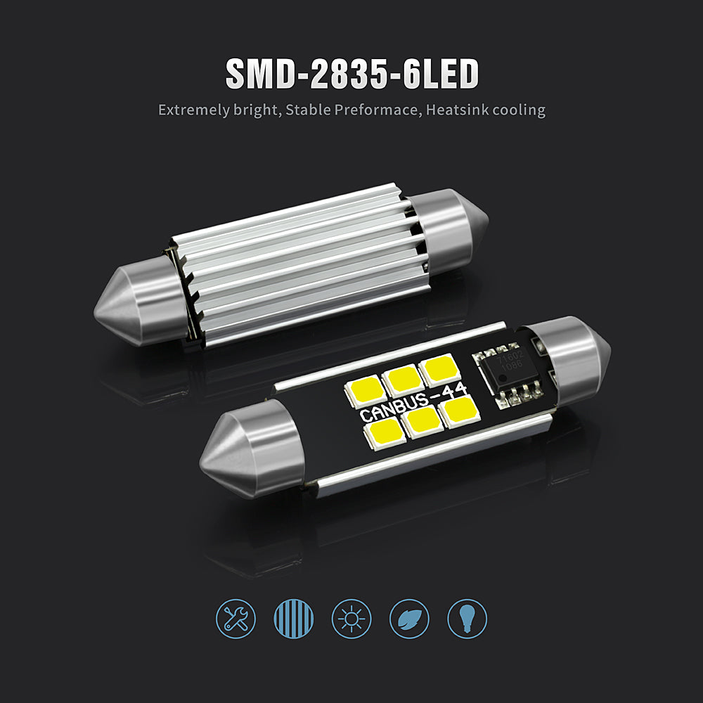 2835 LED Interior Lights-44MM Canbus