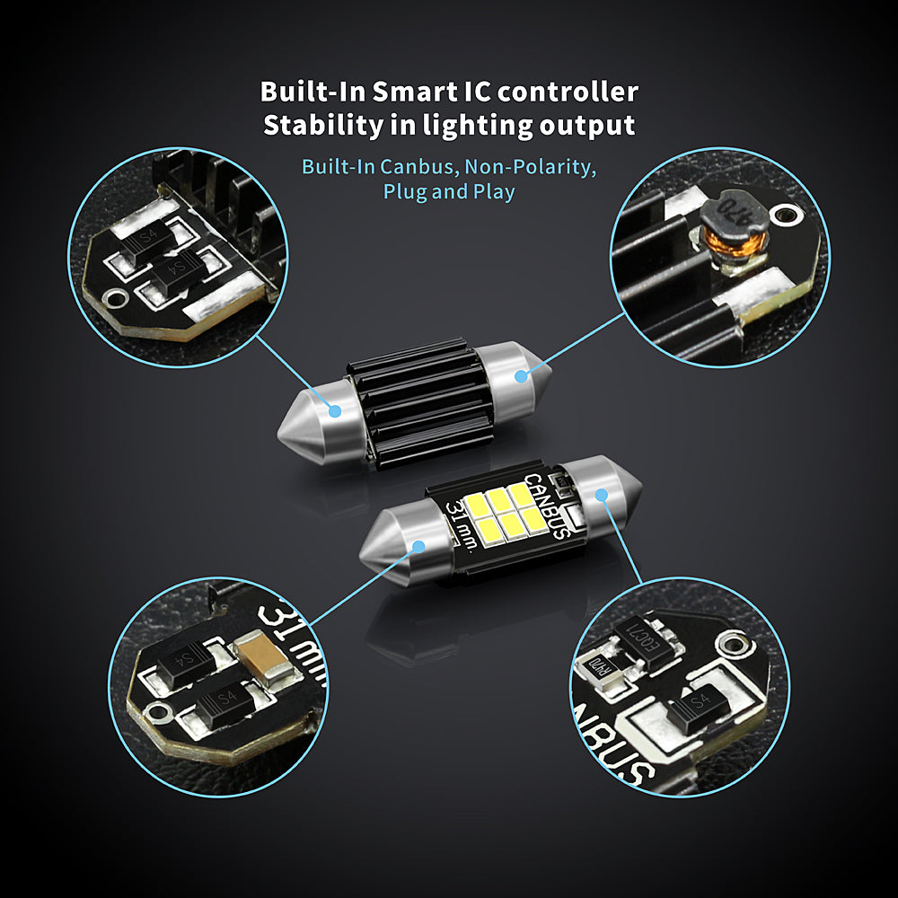 CB Series LED Interior Lights-31MM Canbus