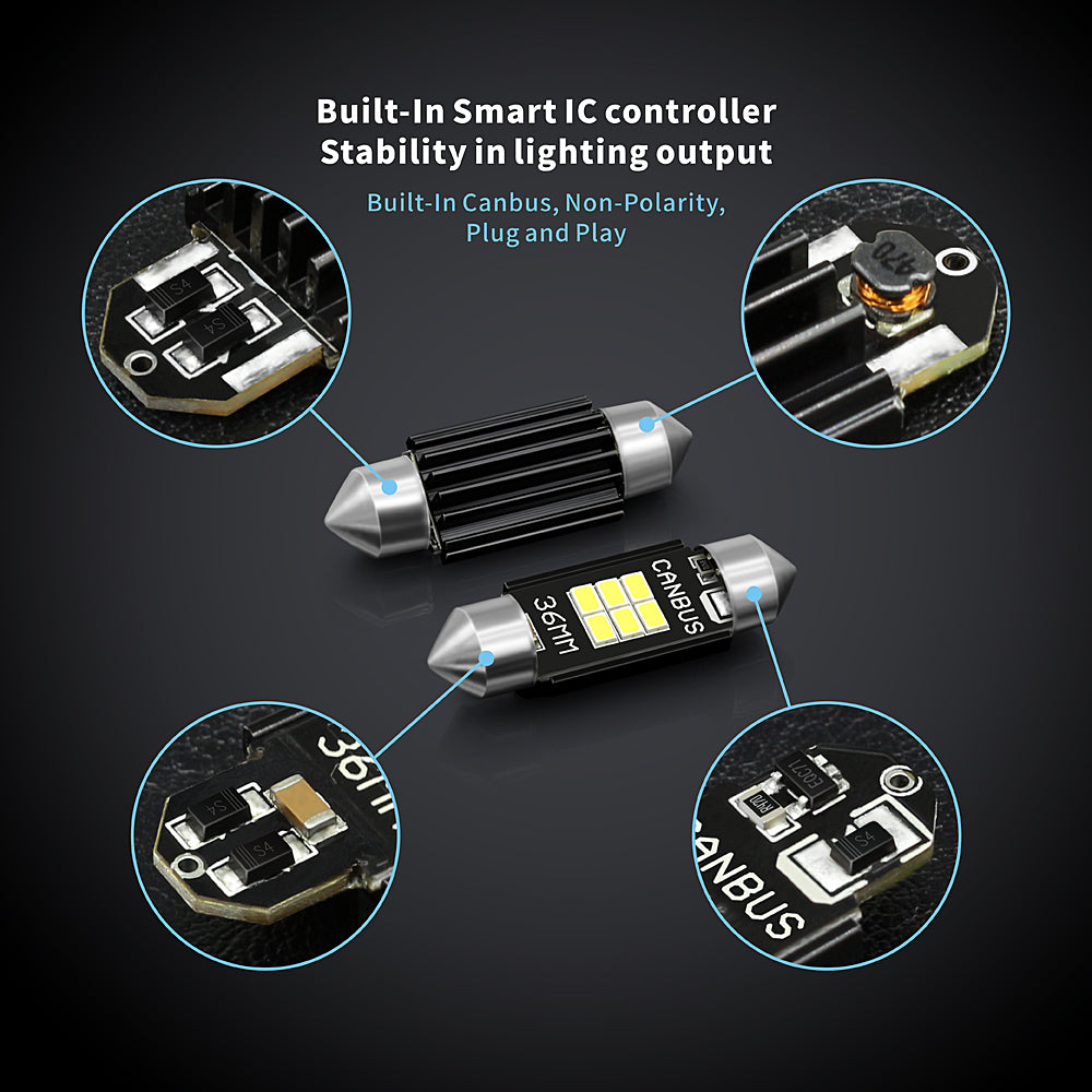 CB Series LED Interior Lights-36MM Canbus