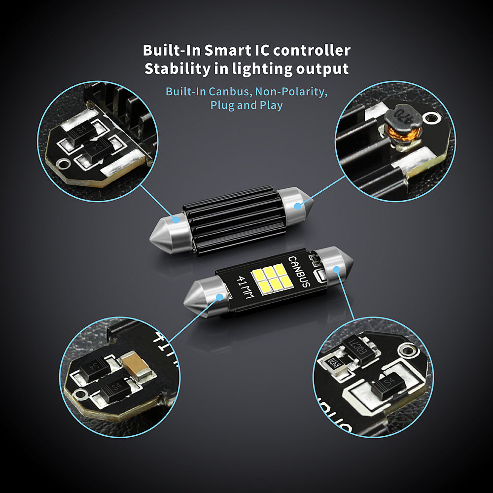 CB Series LED Interior Lights-41MM Canbus
