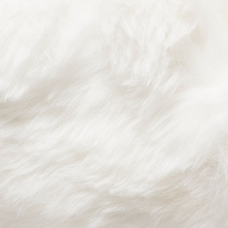 Francesca (Black - White Fur)
