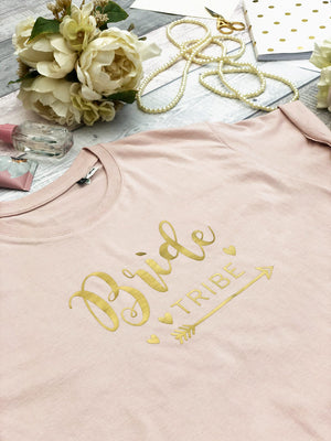Melodie Bride Tribe Hen Do Tee (Soft Rose)