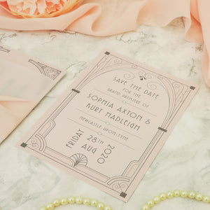Deco Nouveau 4-in-1 Stationery Pack