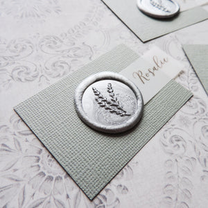Wax Seal Place Card (More Colours)