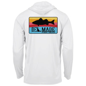 DEL Made Performance UV SPF+50 Rockfish Shirt (Hood)