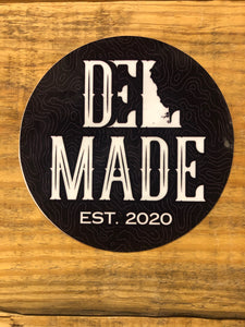 DEL Made Sticker