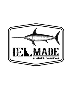 DEL Made Swordfish Sticker