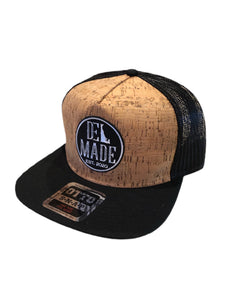 DEL Made Cork SnapBack Hat