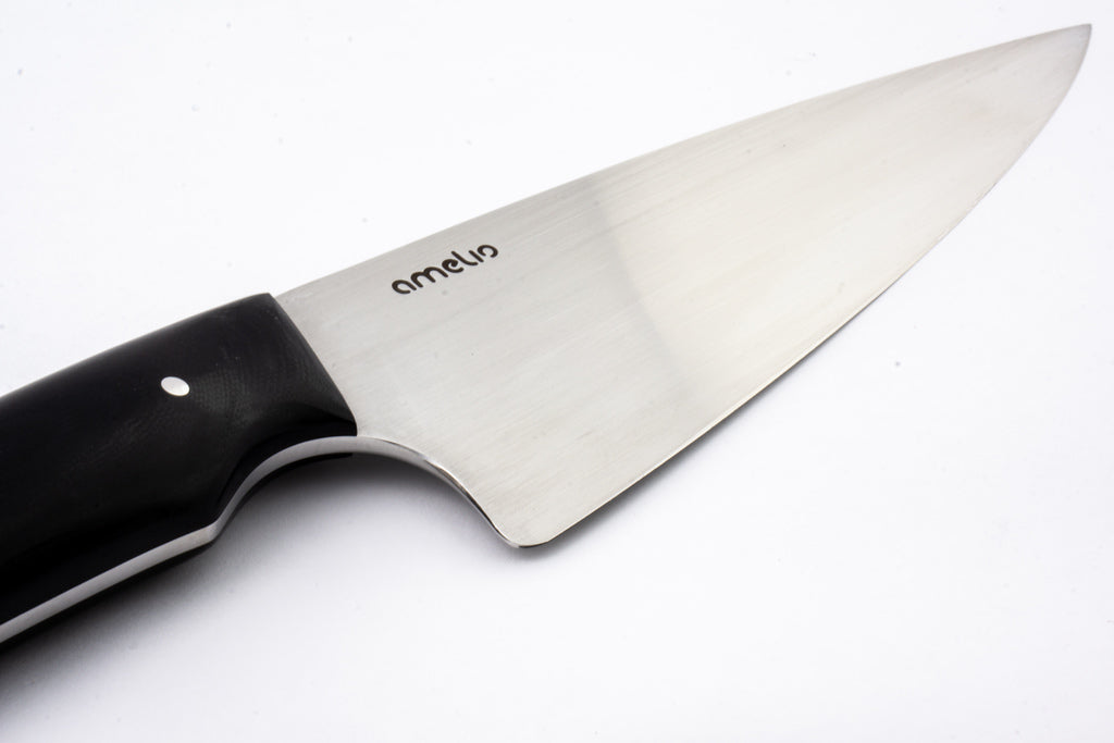 "Triple Knife Set: 6.5"" Chef Knife 