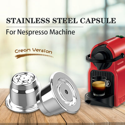Nespresso Cream Refillable Coffee Pod - Forever Green