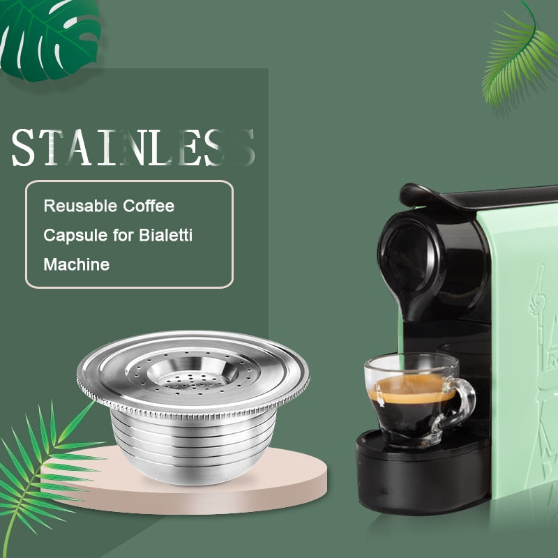 Bialetti Reusable Coffee Pods