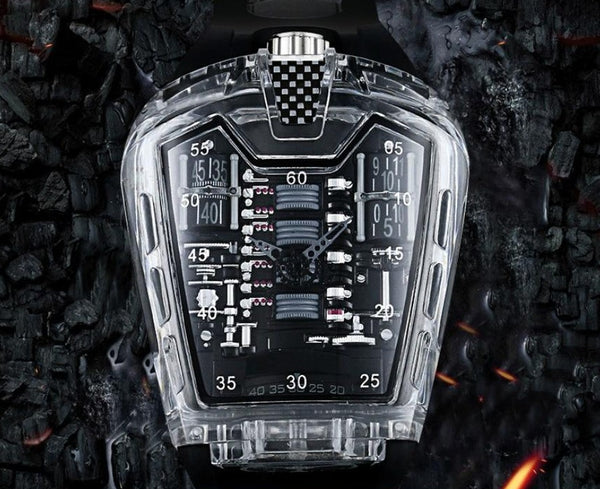 Singulier watches - Oblivion - Trendy Fashion one of a kind homage watch.