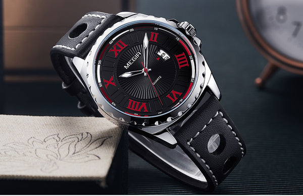 Singulier Watches - Shelby. Racing-inspired analog watch.