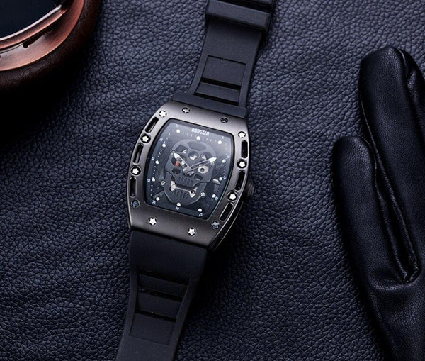 Singulier Watches - Scully Skeleton watch richard mille style homage see-through fashion watch