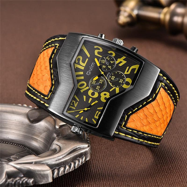 Singulier watches - Snake watch - dual time zone fashion accessory