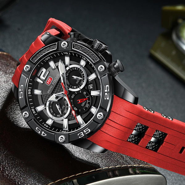 Singulier Watches - Kingpin - Sporty Quartz chronograph