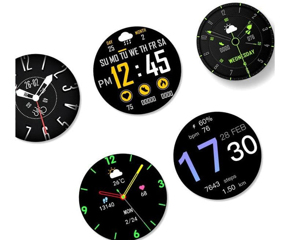 Singulier watches - Swift - Modern health tracking smartwatch with all the features you need. Android and iPhone compatible.
