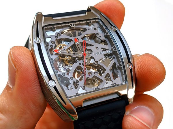 Singulier Watches CIGA design Z skeleton watch