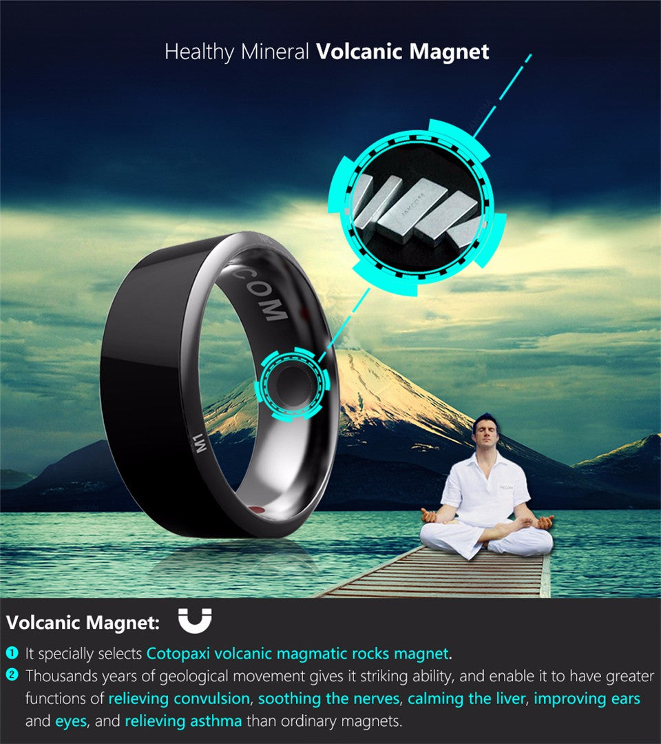 Singulier watches, Jakcom R3 Smart ring, health module