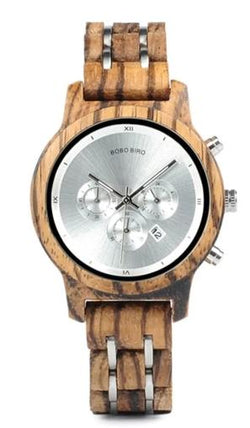 singulier watches. Wooden women's watch with chronograph for timing the kid's showering time, boiling eggs or the time between your husband's snores. Or forget about all this and just wear this elegant close to nature piece of jewelry as a an accessory to your outfit as a subtle statement to support Greta in her environmental struggles.  Movement: Japanese 2035 QUARTZ movement
