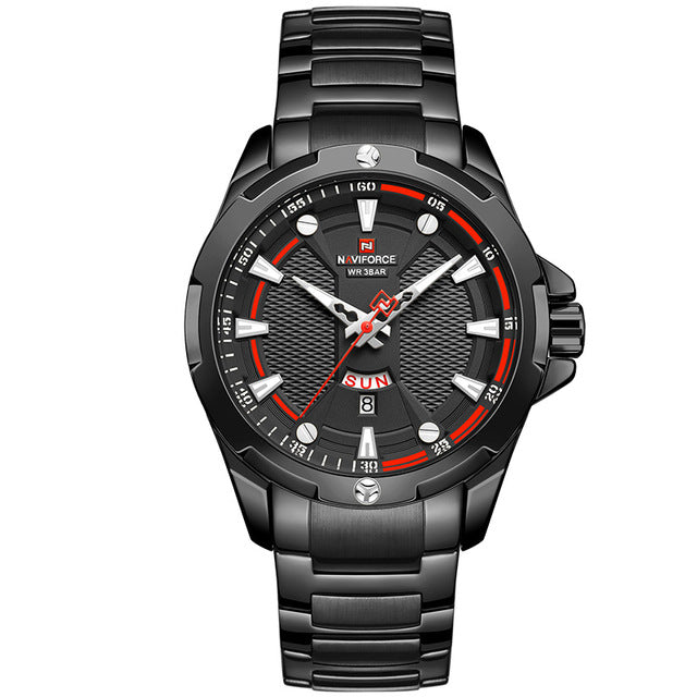 So much watch for the money! Here you get a tastefully designed watch, using Quartz movement, stainless steel bracelet together with a beautiful water resistance case. Incredible value for such a moderate price tag. Movement: QUARTZ Water Resistance Depth: 3Bar Case Material: Stainless Steel singulier watches