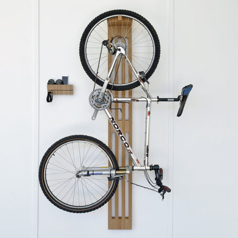 Bike Rest Hang |  Work shop Objects hand made timber bike rack