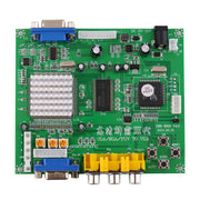 RGB/CGA/EGA/YUV to VGA HD Video Converter Board HD9800/GBS8200 for Arcade Green