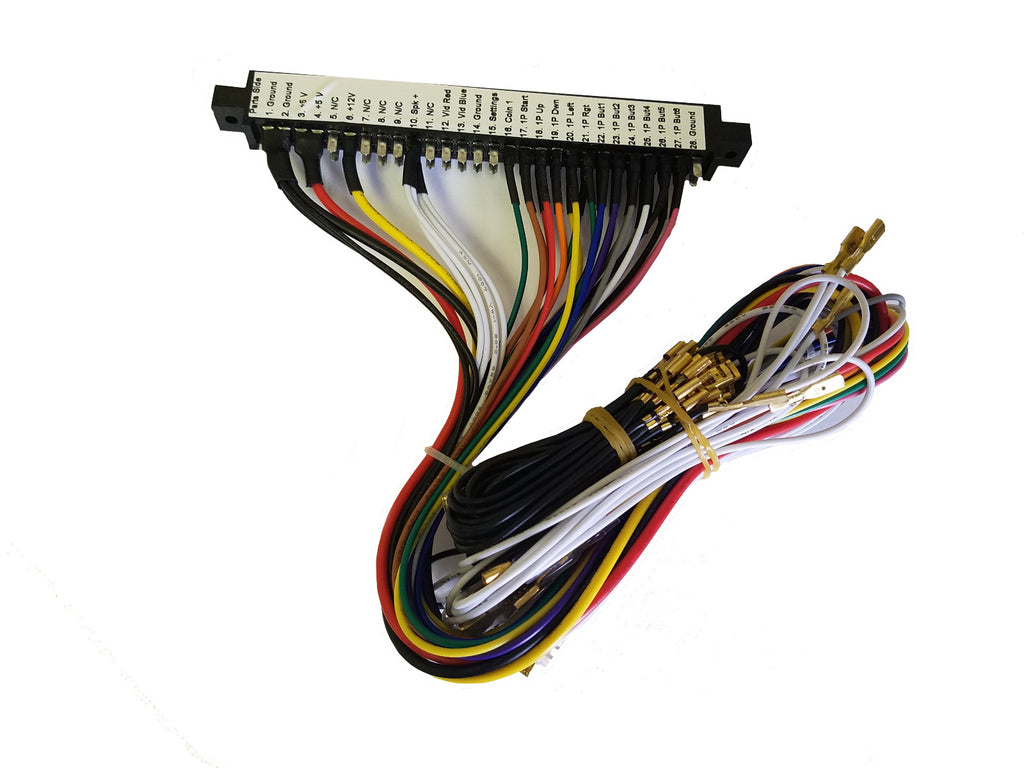 Pandoras Box Custom Jamma Harness for Bartops Countertops Cabinets