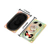 8 Ohm 5 W Rectangle Audio Loud Speaker Trumpets 2Pcs