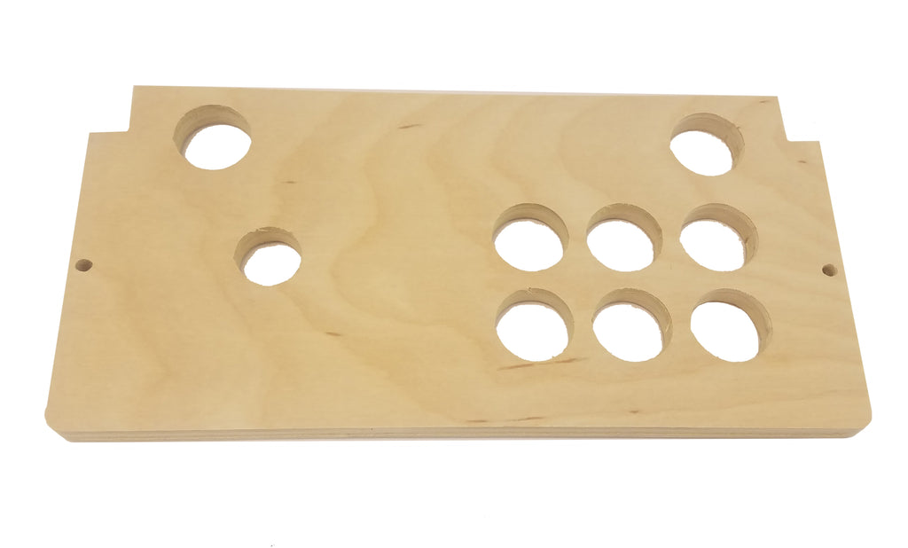 "Replacement Control Deck ""6 Hole"" Panel for Arcade1Up Countercade"